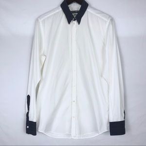 DOLCE AND GABBANA Martini Fit Button Shirt